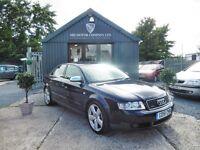 Audi A4 2.5TDI SPORT QUATTRO 180BHP (blue) 2002