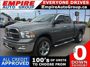 2011 RAM 1500 BIG HORN * 4WD * CHROME PACKAGE * BLUETOOTH