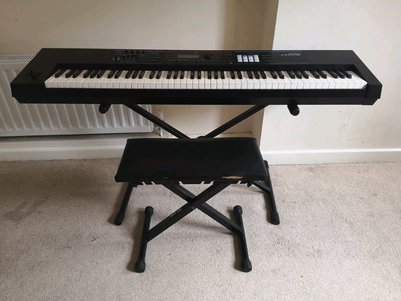 Roland JUNO DS88 Synth Keyboard with stool and case   in St George, Bristol    Gumtree