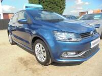 2015 15 VOLKSWAGEN POLO 1.4 SE TDI BLUEMOTION 5DR 75 BHP FINANCE WITH NO DEPOSIT
