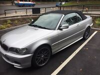 BMW 320 sport convertible 2005 only 60000 miles