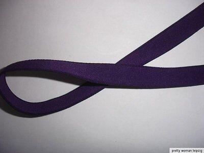 10m Gummiband 0,28€/m violett 11mm breit V40