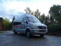 Mercedes Sprinter 3.5 Ton Extra High Roof & Extra Long Wheel Base