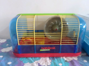 cage habitrail pour hamster
