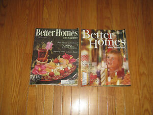 Better Homes and Gardens Magazines Mid Century Modern 1956-1960