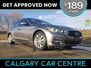 2014 Q50 AWD $189B/W TEXT US FOR EASY FINANCING! 587-582-2859