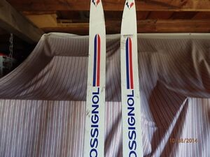 mens x country skis with poles