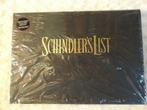Schindler's List Limited Edition VHS Collector Box Set – NEW