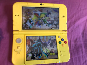 "Limited Edition Pikachu ""New"" Nintendo 3DS XL with 6 Games"
