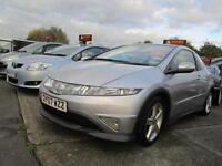 Honda Civic I-VTEC Type-S GT 3dr WAS £5500 NOW PETROL MANUAL 2007/07