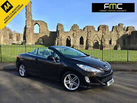 2009 Peugeot 308 CC 1.6 SE Convertible *White Leather - Pearlescent Paint - FSH*