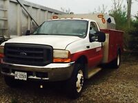 2000 f450 7.3 power stroke  with service body