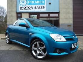 2006 (56) VAUXHALL TIGRA CONVERTIBLE 1.4i EXCLUSIV, 1 LADY OWNER FROM NEW!