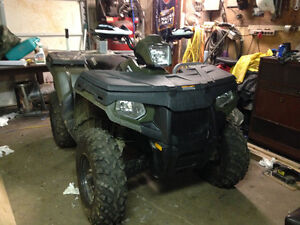TRADE MY 2011 POLARIS SPORTSMAN 500 H.O. For 2 -250DIRT BIKES
