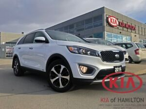 2016 Kia Sorento EX+ V6 | AWD | Rearview Camera | 7-Seater