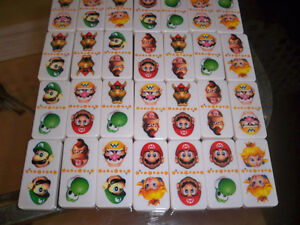 Nintendo 28 Super Sized Dominoes Sababa Toys 2004 Super Mario Se Windsor Region Ontario image 7