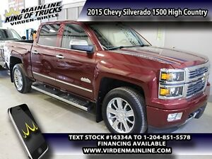 2015 Chevrolet Silverado 1500 High Country  - Cooled Seats -  He