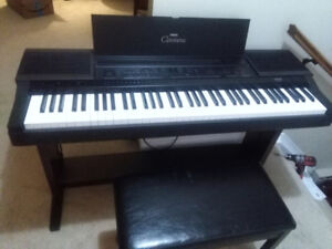 Yamaha digital weighted key piano
