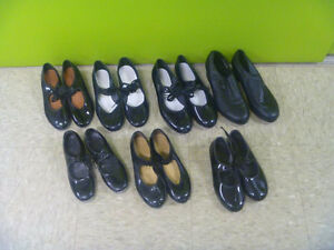 Assorted Youth Tap Dance Shoes Various Sizes