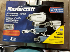 """Trousse d'outils pneumatiques """" Mastercraft"""""""