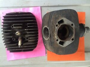 Ossa 250 ISDT  Cylinder and Head