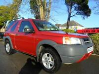 LANDROVER FREELANDER XE 1.8 2000 COMPLETE WITH M.O.T HPI CLEAR INC WARRANTY