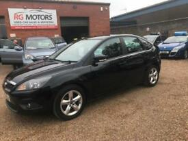 2009 Ford Focus 1.6 ( 100ps ) Zetec, Black, 5dr, Hatch, **ANY PX WELCOME**