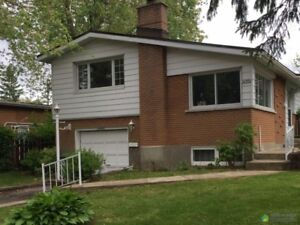 Fully Renovated Home for rent In Pierrefonds. Close to School.