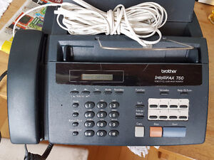Brother Intellifax 750 Phone/Fax