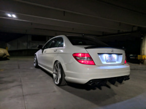 AMG Mercedes c63 w204 2009 for sale