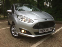 Ford Fiesta 1.25 (82ps) 2015.75MY Zetec 1.2 LTR ONLY 10K FSH SHOWROOM CONDITION