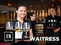 Waitresses and Commis Waitresses in Central London.