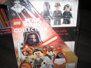 Lego Ninjago,  Lego Star Wars  Collection, NEW book sets