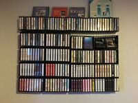 Collectable Sought After Rare Cassettes Various Artists 200+ Tapes