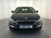 2015 PEUGEOT 308 ACTIVE SW HDI BLUE ESTATE 1 OWNER PEUGEOT SERVICE HISTORY