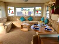 stunning 6 berth static caravan here at Sandylands holiday park , Scotland