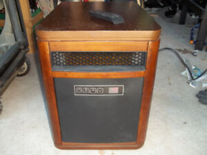 1500 watt radiant heater cabinet