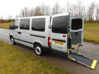 2010 Renault Master 2.5 DCi 6 Seats WHEELCHAIR ACCESSIBLE DISABLED VEHICLE WAV