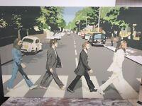 Large Beatles canvas