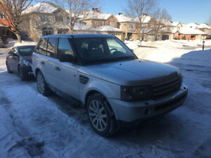 2006  Range Rover Sport Hse supercharged SUV, Crossover
