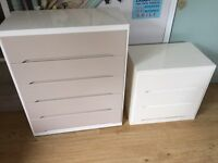 2 X chests of drawers