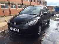 Bargain Mazda 2 ts2 1.4 diesel, full years MOT only £20 tax for year, cheap runner
