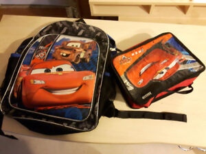 Both $3Backpack with lunch bag