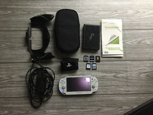 White Sony PS Vita w/ 5 Games