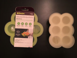 Baby Food Trays - Beaba Silicone Multiportions