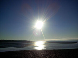 Oceanfront land for sale on Bay of Fundy