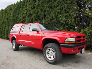 2002 Dodge Dakota Sport Quadcab Truck