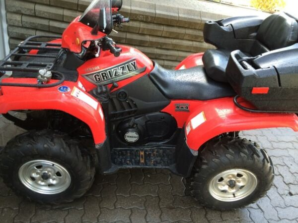 2002 Yamaha GRIZZLY 660