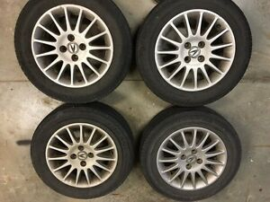 Acura 1.7el rims and tires