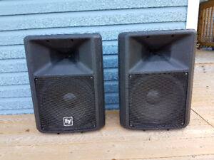 EV Electro-Voice SX300 PA Speakers